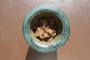 Saté mit Erdnusssauce